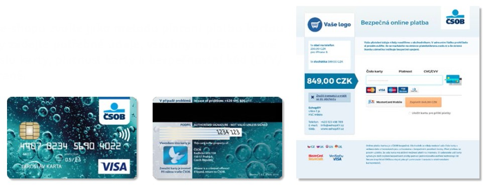 418ca58c964 Nebojte se platit kartou na internetu - Blog - ČSOB Pojišťovna
